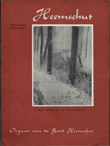 Heemschut - Tijdschrift 1924-2018 1948-02-01