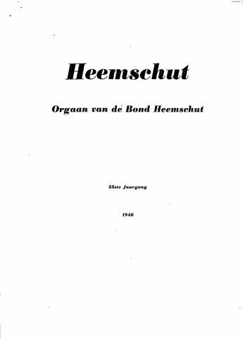 Index Heemschut 1947-2002 1948