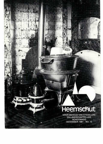 Heemschut - Tijdschrift 1924-2018 1981-12-01