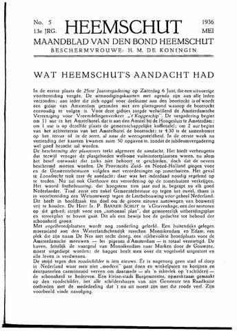 Heemschut - Tijdschrift 1924-2018 1936-05-01