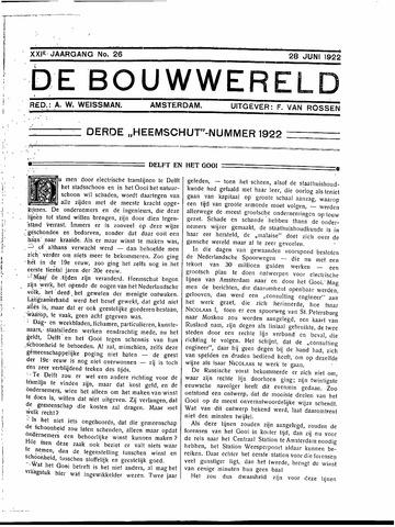 Bouwwereld 1918-1923 1922-06-28