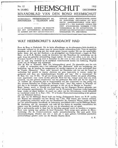 Heemschut - Tijdschrift 1924-2018 1932-12-01