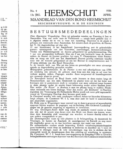 Heemschut - Tijdschrift 1924-2018 1936-04-01