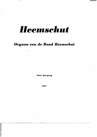 Index Heemschut 1947-2002 1957-12-01