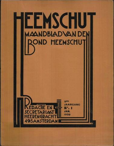 Heemschut - Tijdschrift 1924-2018 1932-01-01