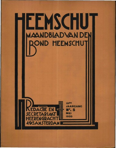 Heemschut - Tijdschrift 1924-2018 1933-05-01