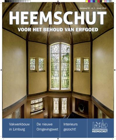 Heemschut - Tijdschrift 1924-2018 2016-03-01