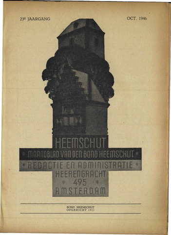 Heemschut - Tijdschrift 1924-2018 1946