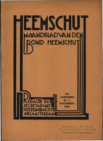 Heemschut - Tijdschrift 1924-2018 1936-11-01