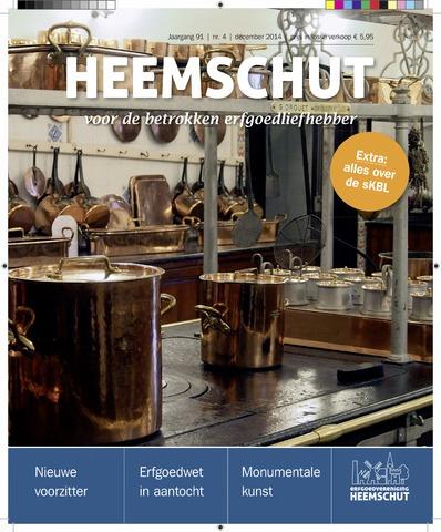 Heemschut - Tijdschrift 1924-2018 2014-12-04