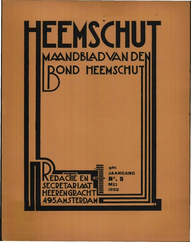 Heemschut - Tijdschrift 1924-2018 1932-05-01