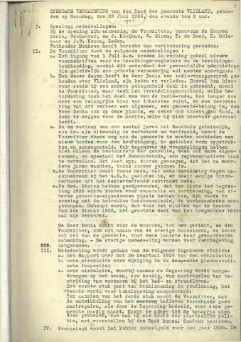 Raadsnotulen 1936