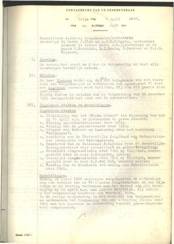 Raadsnotulen 1966