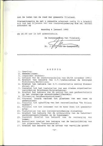 Raadsnotulen 1992