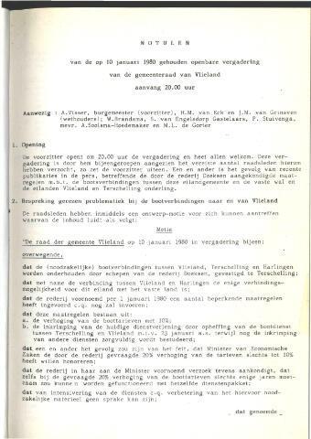 Raadsnotulen 1980