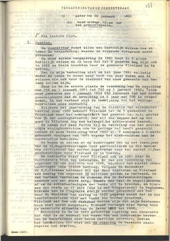 Raadsnotulen 1962