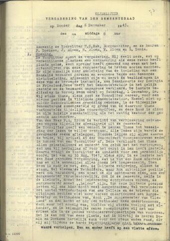 Raadsnotulen 1945