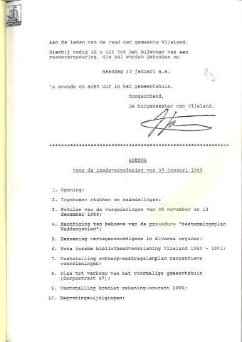 Raadsnotulen 1989
