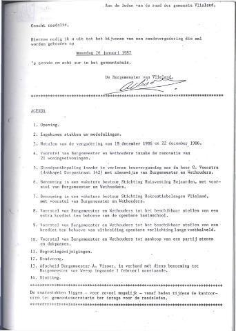Raadsnotulen 1987