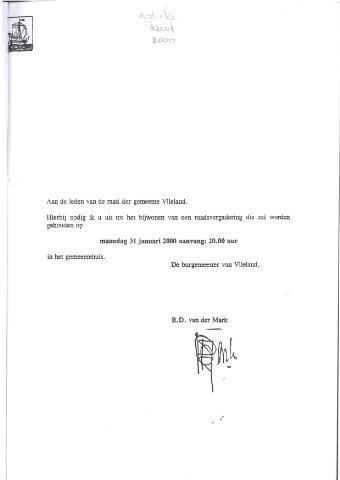 Raadsnotulen 2000