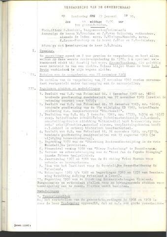 Raadsnotulen 1970
