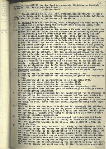 Raadsnotulen 1939