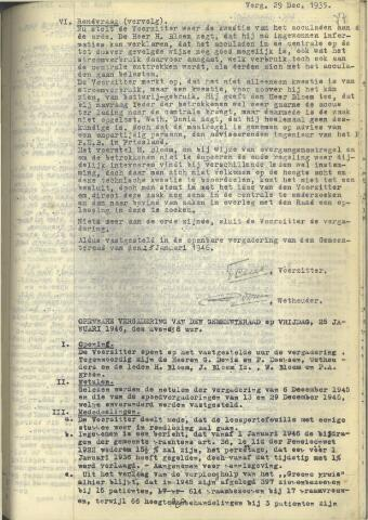 Raadsnotulen 1946