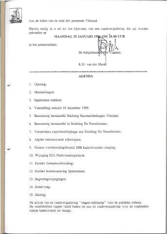 Raadsnotulen 1996