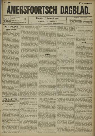 Amersfoortsch Dagblad 1907-01-15
