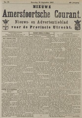 Nieuwe Amersfoortsche Courant 1917-09-29