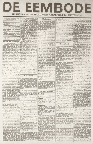 De Eembode 1921-04-19