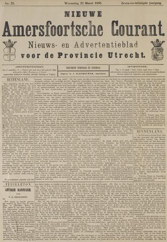 Nieuwe Amersfoortsche Courant 1898-03-23