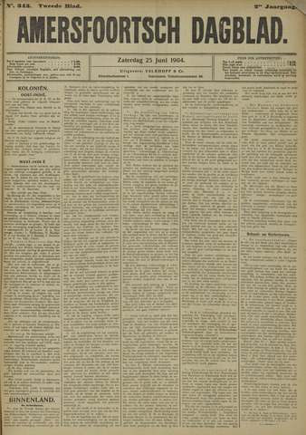 Amersfoortsch Dagblad 1904-06-25