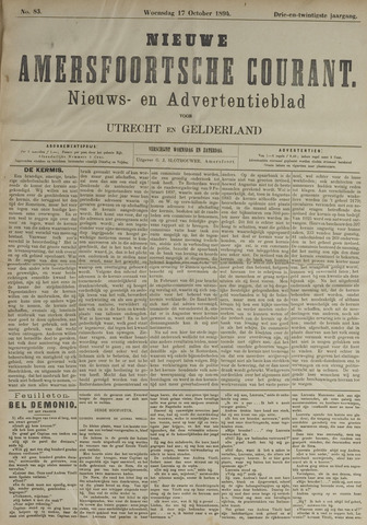 Nieuwe Amersfoortsche Courant 1894-10-17