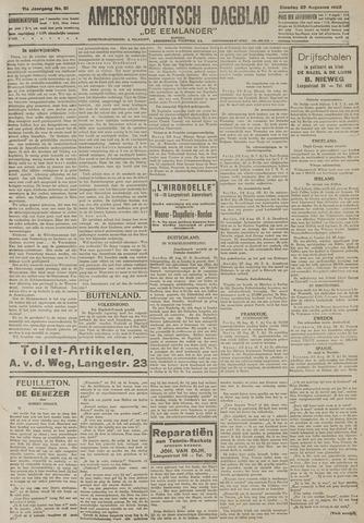 Amersfoortsch Dagblad / De Eemlander 1922-08-29