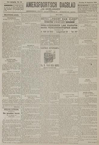 Amersfoortsch Dagblad / De Eemlander 1925-08-18