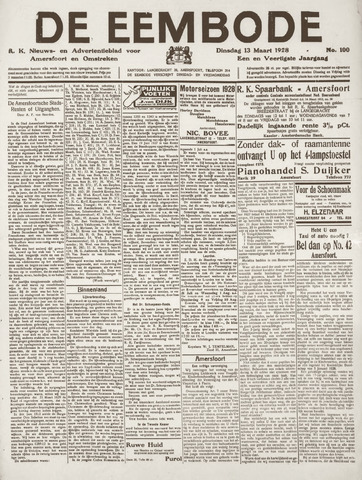 De Eembode 1928-03-13