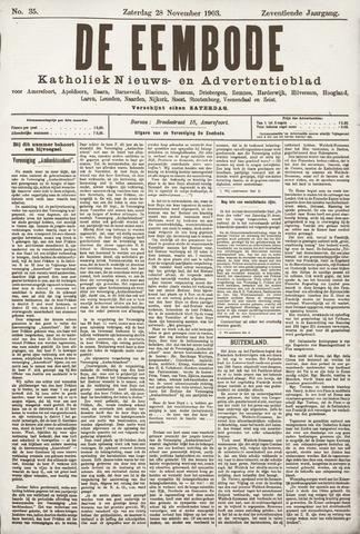 De Eembode 1903-11-28