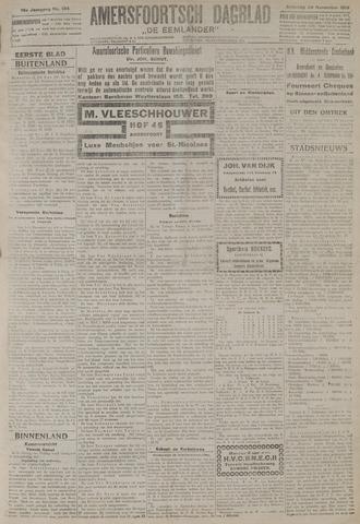 Amersfoortsch Dagblad / De Eemlander 1919-11-29
