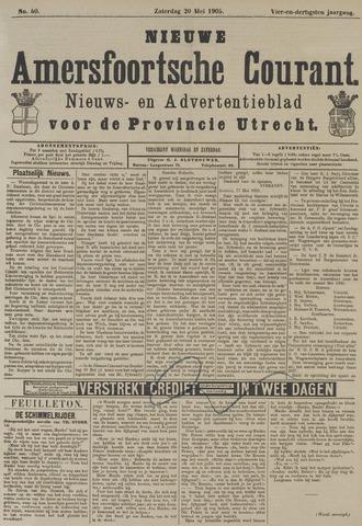 Nieuwe Amersfoortsche Courant 1905-05-20