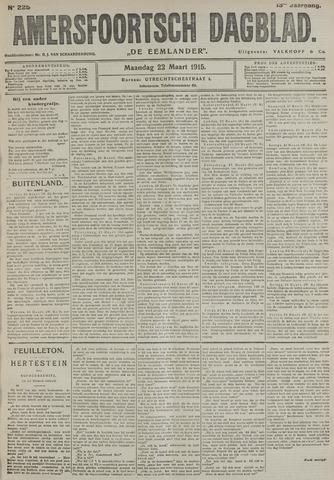 Amersfoortsch Dagblad / De Eemlander 1915-03-22