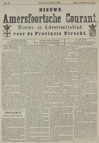 Nieuwe Amersfoortsche Courant 1909-03-17