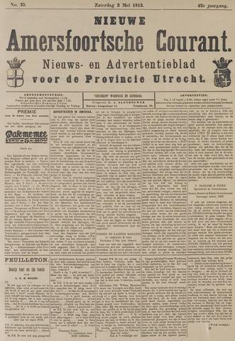 Nieuwe Amersfoortsche Courant 1913-05-03