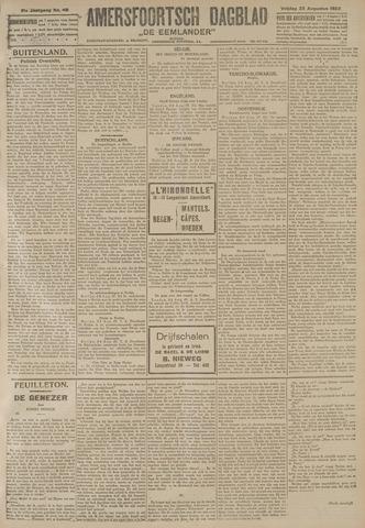Amersfoortsch Dagblad / De Eemlander 1922-08-25