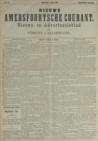 Nieuwe Amersfoortsche Courant 1890-04-02