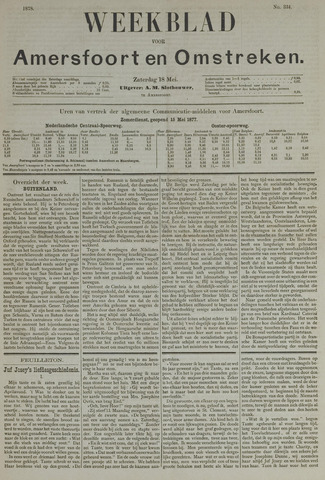 Weekblad voor Amersfoort en Omstreken 1878-05-18