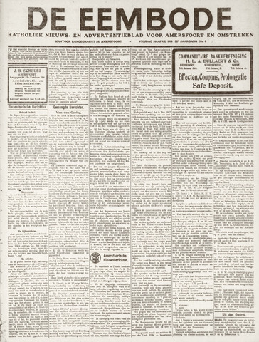 De Eembode 1918-04-26