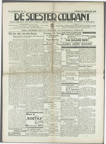 Soester Courant 1935-02-08