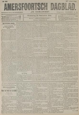 Amersfoortsch Dagblad / De Eemlander 1915-11-24