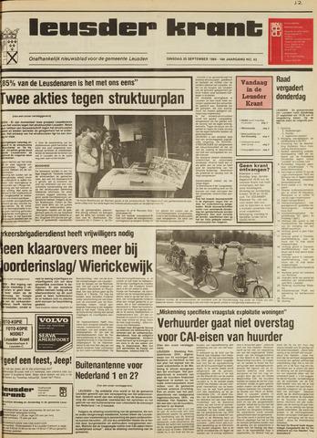 Leusder Krant 1984-09-25